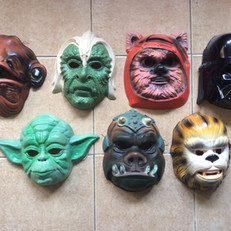 Acamas masks - Return of the Jedi