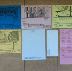 TESB Production paperwork