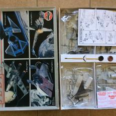 Airfix Return of the Jedi Space Vehicles Model Set