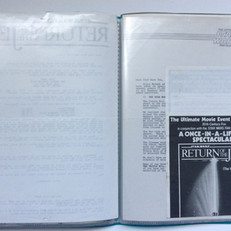 Ticket application form for Triple Bill including ROTJ premiere Summer 1983