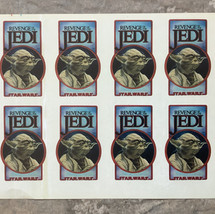 Revenge of the Jedi cast & crew stickers