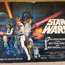 Star Wars UK Quad Poster