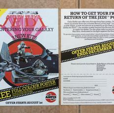 Airfix 3 New Kits flyer