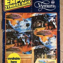 ICI Vymura The Empire Strikes Back store display poster