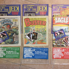 Comics promotion for Panini sticker albums