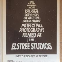 Screen International magazine Star Wars Elstree Studios advertisement