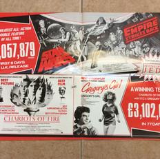 Screen International magazine Star Wars / The Empire Strikes Back 20th Century Fox advertisement