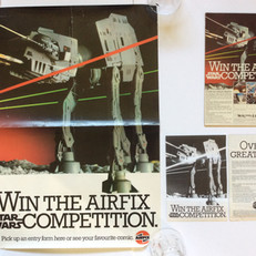 Airfix Competition Shop Display Poster, Advert and Flyer