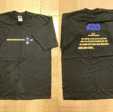 Episode I 1998 ILM VFX crew tee shirt