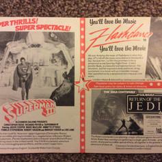 Odeon magazine Return of the Jedi advert