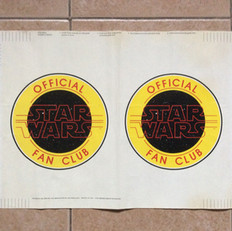 Star Wars fan club book cover