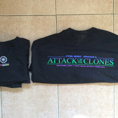 Cast & crew shirts - Episode II - rear