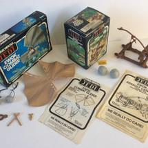 Kenner / Palitoy Ewok Combat Glider and Ewok Assault Catapult