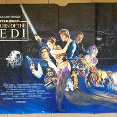 Return of the Jedi UK Quad Poster 1