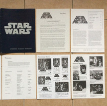 Star Wars Advertising, Publicity & Promotional folder