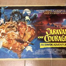 Caravan of Courage UK Quad Poster