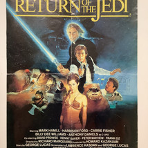 Return of the Jedi Video store poster
