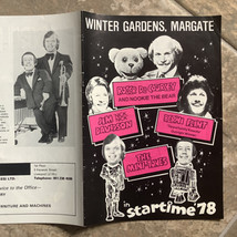 1978 Margate Winter Gardens programme featuring The Mini-Tones