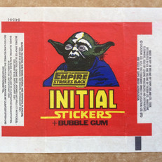 Topps Ireland Initial Stickers wrapper