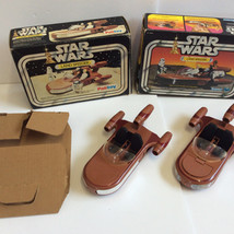 Palitoy and Kenner Land Speeders