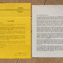 Jedi fan club correspondence 1983