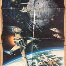 Return of the Jedi fan club poster