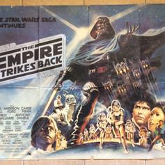 The Empire Strikes Back UK Quad Poster