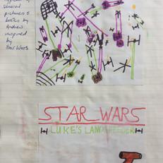 Star Wars drawings, c. 1979