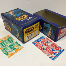 Trebor Star Wars Chews boxes and wrappers