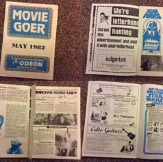 Odeon Movie Goer magazine May 1982