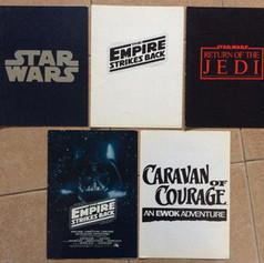 Cinema cast & crew listing booklets