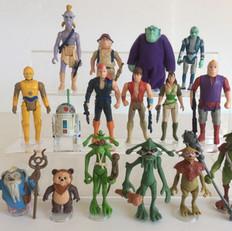 Action figures - Droids & Ewoks