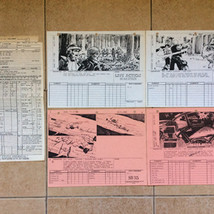 ROTJ Production paperwork
