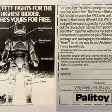 Palitoy Free Boba Fett flyer