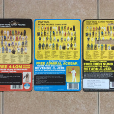 Palitoy stickers on Kenner cardbacks