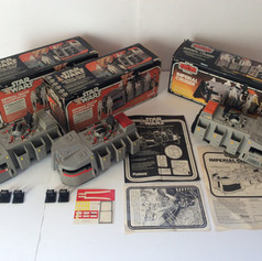 Palitoy Imperial Troop Transporter and Kenner Imperial Cruiser