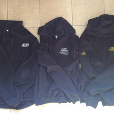 Cast & crew fleeces - front