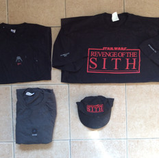 Cast & crew items - Episode III - front