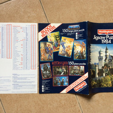Waddingtons Jigsaws catalogue 1984
