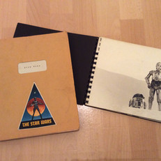 Star Wars script and Glory Book