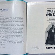 US fan club welcome letter and UK application form, 1978