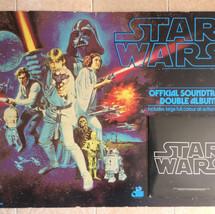 Pye Star Wars record store display