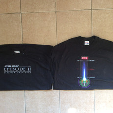Cast & crew shirts - Episode II - front