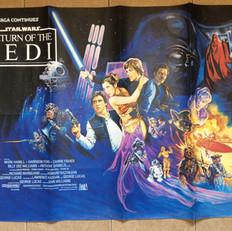 Return of the Jedi UK Quad Poster 2