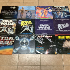 Star Wars record collection