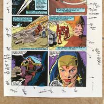 Colourist artwork for Star Wars comic (1990s).