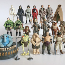 Action figures - ROTJ 2nd Wave