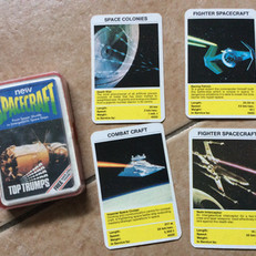 Top Trumps 'Spacecraft' pack with Star Wars images