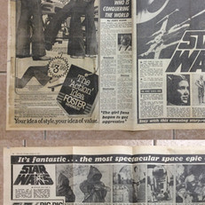Star Wars feature in The Sun Newspaper