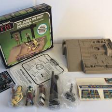 Kenner Jabba The Hutt Dungeon (Green box)